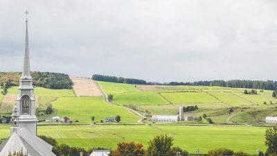 Photographie d'un paysage de Chaudière-Appalaches