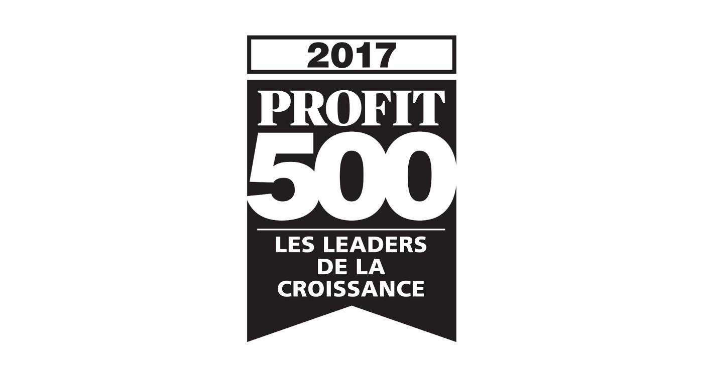Logo du Profit 500 de 2017