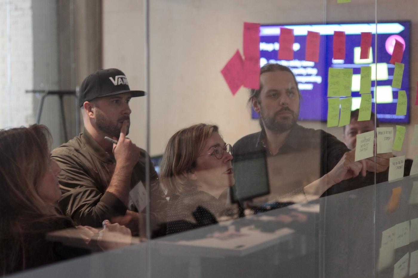 Atelier de Design Thinking donné chez Infopresse