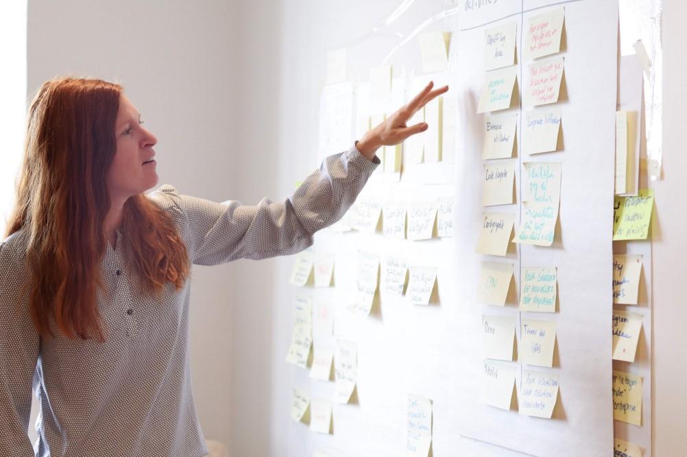 Séance d'idéation en Design Sprint