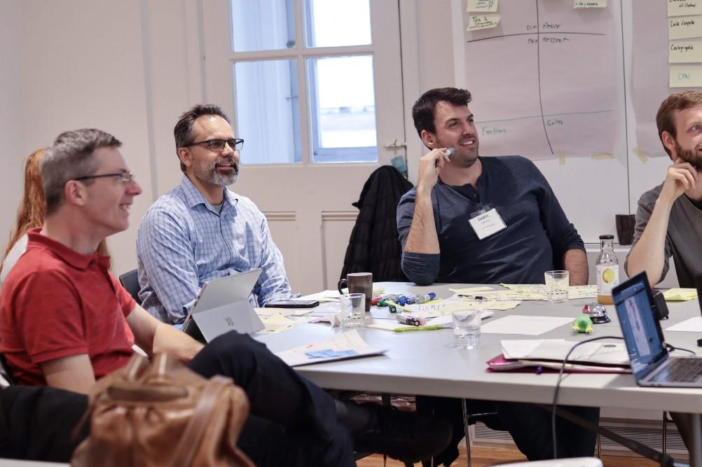 Séance de discussion en Design Sprint