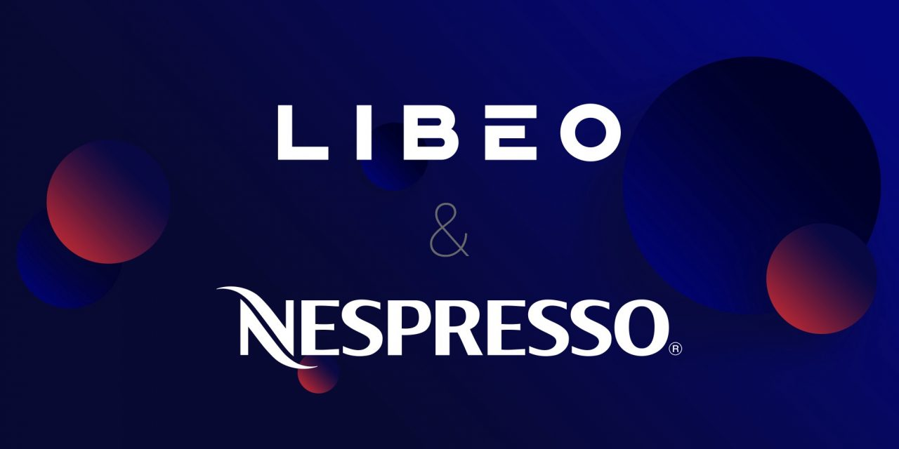 Les logos de Libéo et de Nespresso