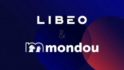 Les logos de Libéo et de Mondou