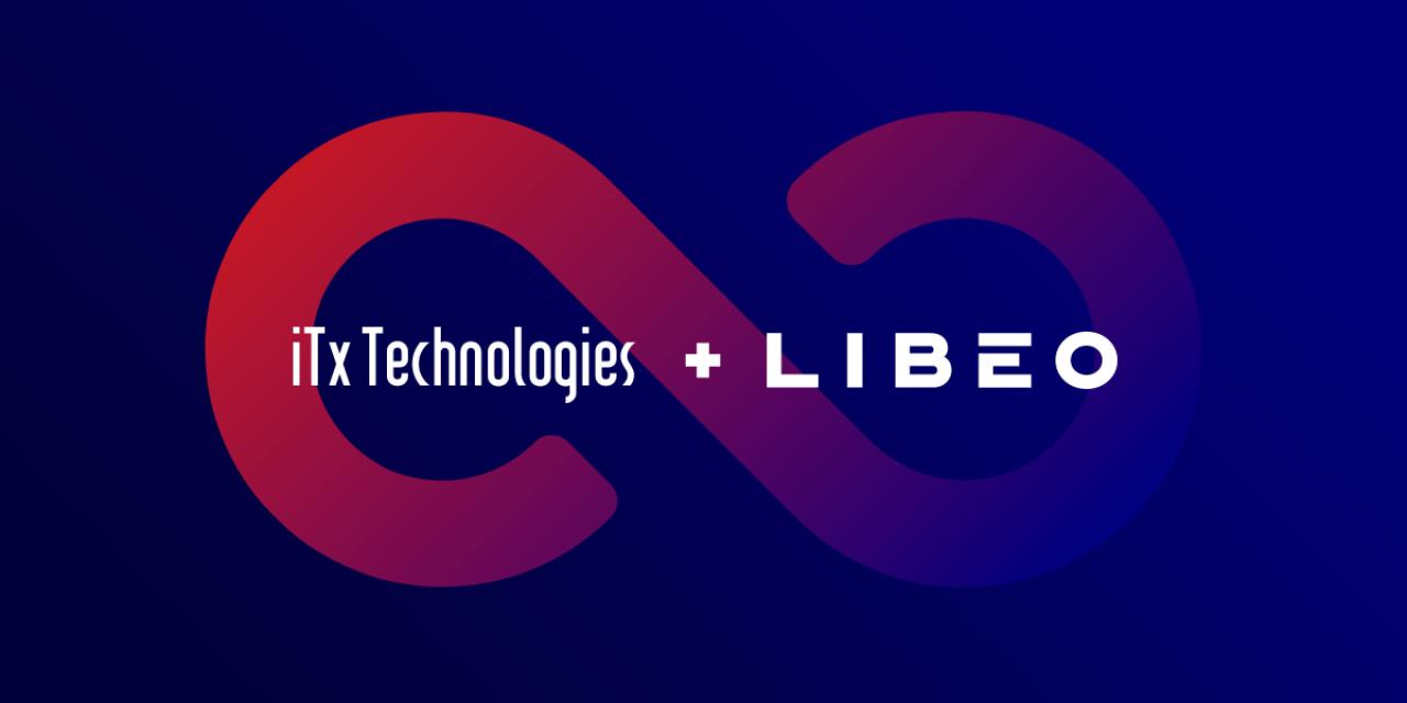 Les logos de Libéo et de ITx Technologies
