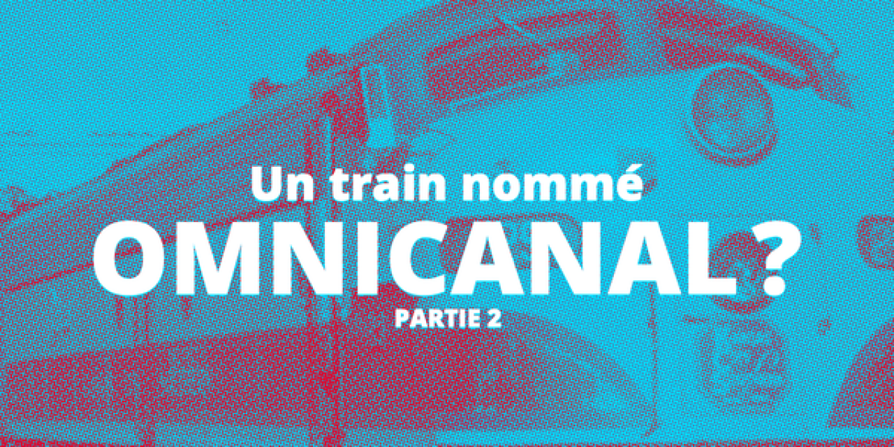 Titre de l'article devant un train