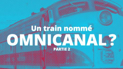 Titre de l'article devant un train