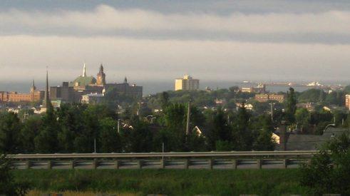 Photographie d'un paysage du Bas-Saint-Laurent