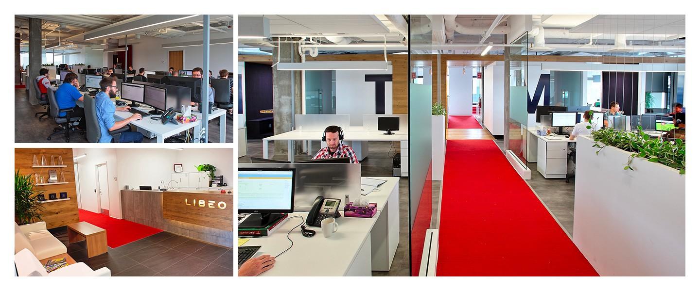 Les bureaux de Libéo, situés dans Lebourgneuf à Québec