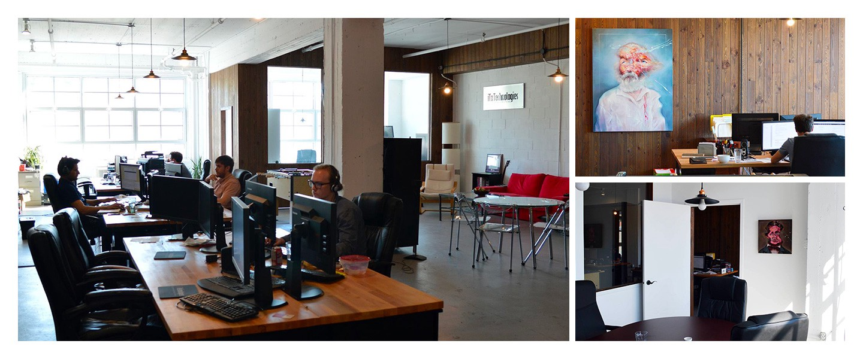 Les bureaux de iTx à Montréal