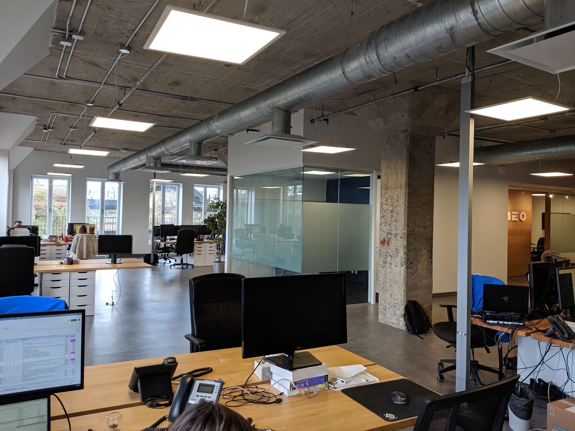 Le bureau de Libéo à Montréal
