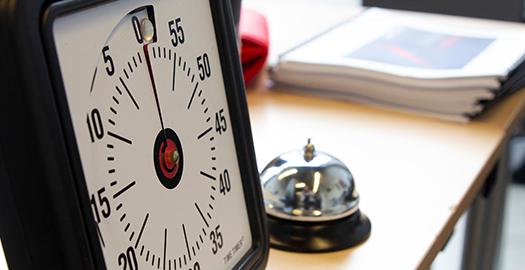 L'horloge de Design Sprint