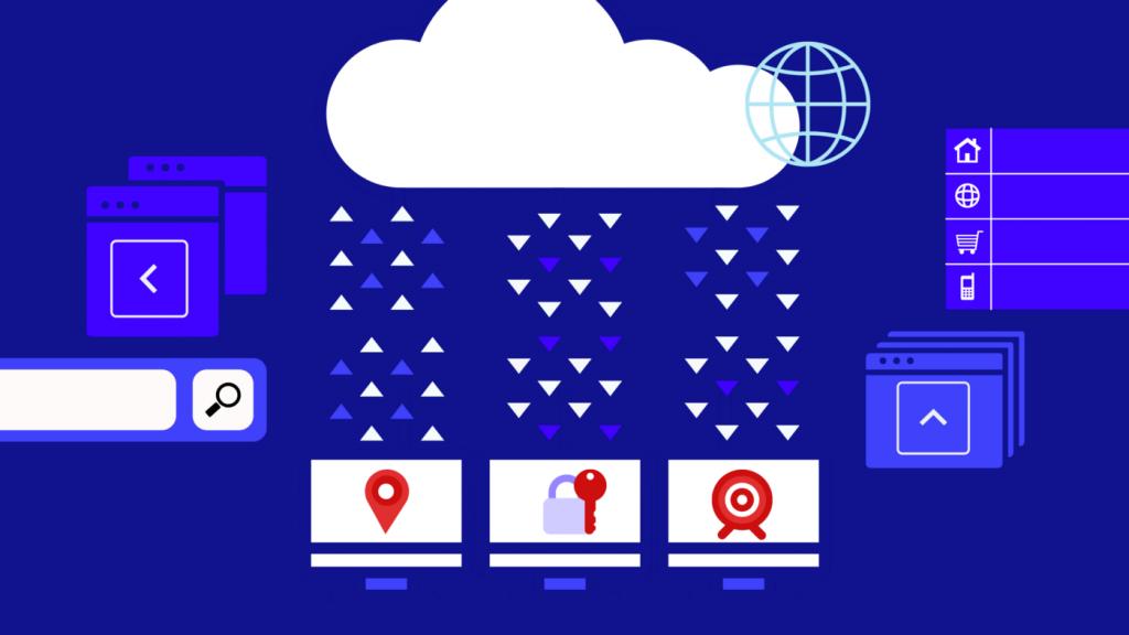 Illustration de l'hébergement Cloud dans un contexte de Big Data