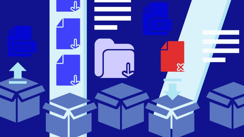 Illustration du classement des données dans le Big Data
