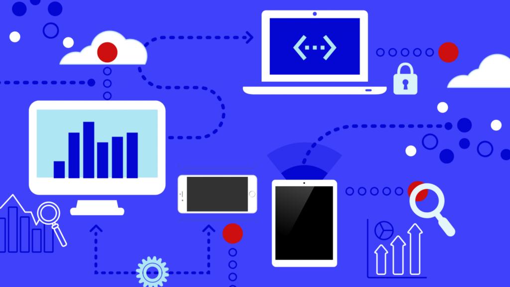 illustration de la gestion des données