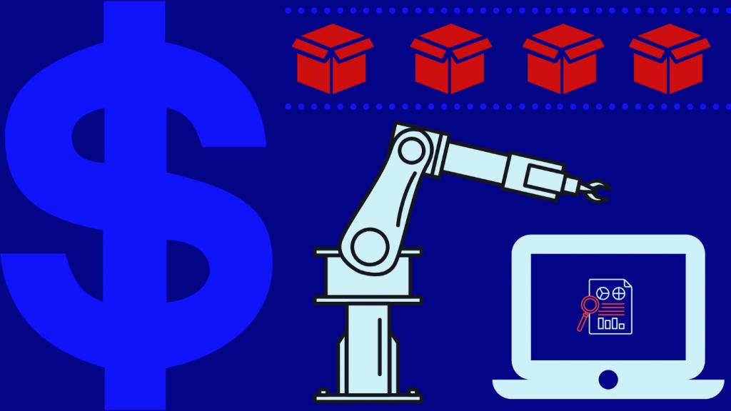 Illustration avec un dollar pour illustrer l'aspect économique du développement durable