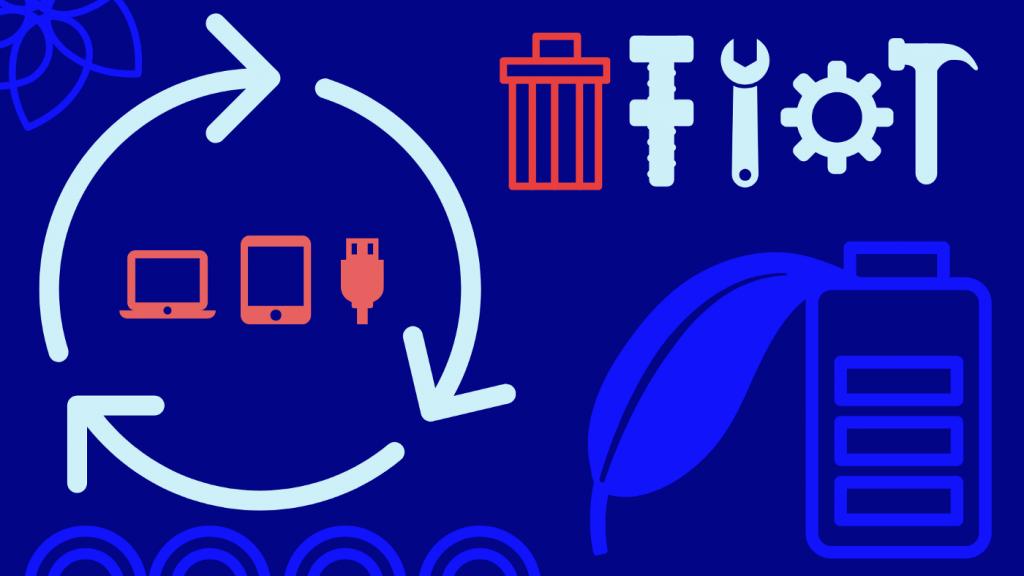 Schéma qui représente la Green Tech du développement durable