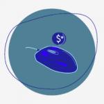Icone de souris d'ordinateur