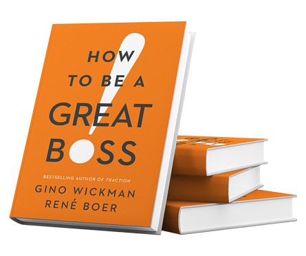 Photographie du livre how to be a great boss