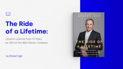 the ride of a lifetime robert iger