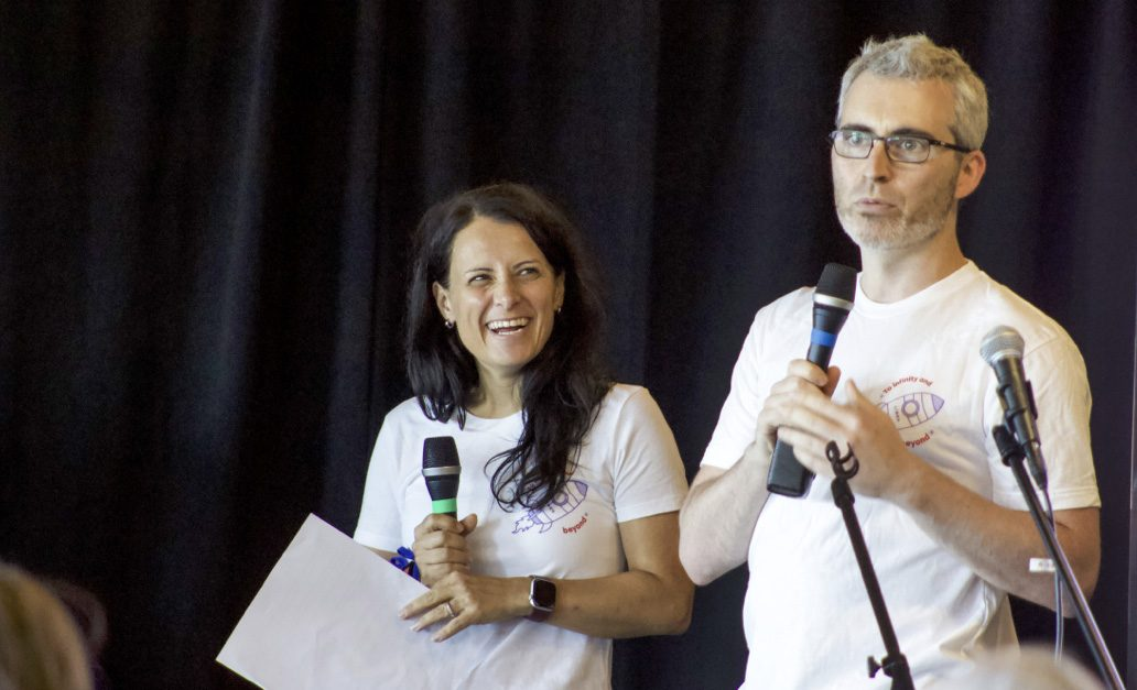 Caroline Pageau et Jean-Philippe Auclair